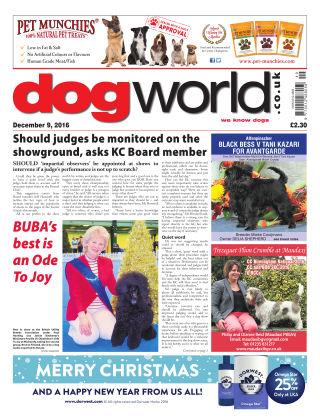 Dog World 9th December 2016
