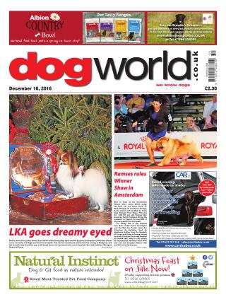 Dog World 16th December 2016