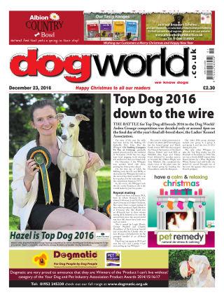 Dog World 23rd December 2016