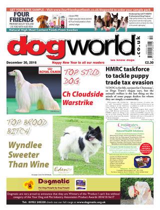 Dog World 30th December 2016