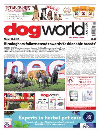 Dog World 10th March 2017