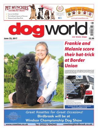 Dog World 23rd June 2017
