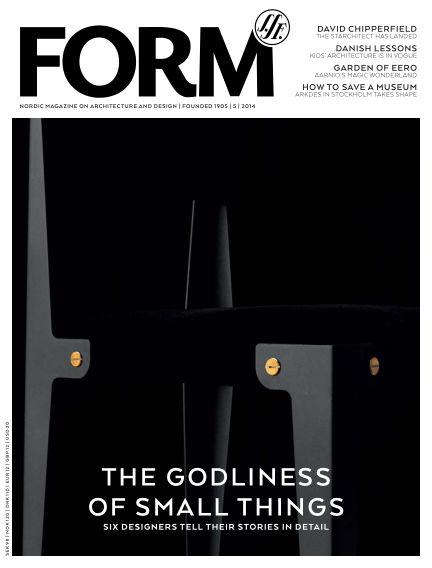 FORM Magazine October 14, 2014 00:00