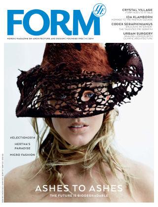 FORM Magazine 2014-08-18