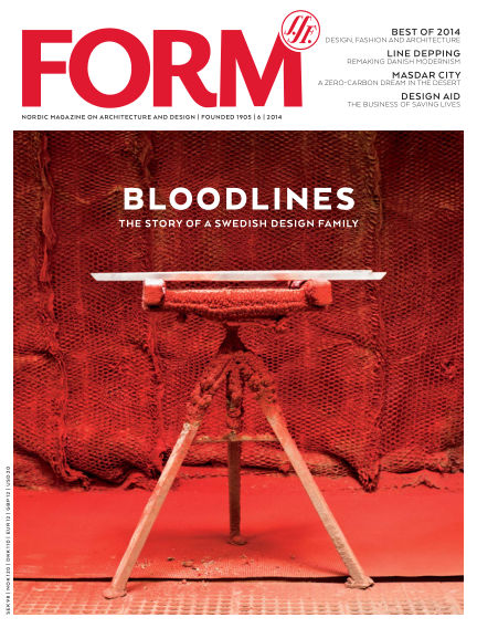 FORM Magazine December 09, 2014 00:00