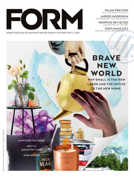 FORM Magazine April 07, 2015 00:00