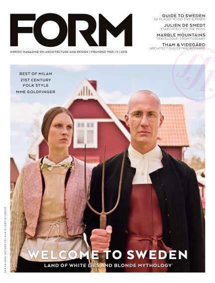 FORM Magazine June 02, 2015 00:00