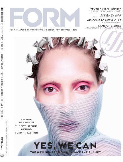 FORM Magazine August 18, 2015 00:00