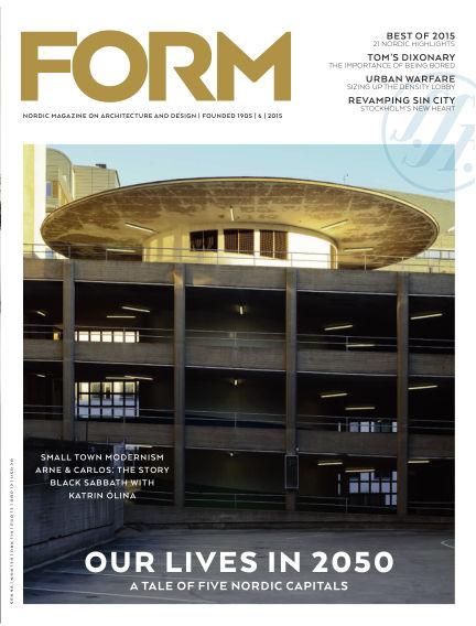FORM Magazine December 08, 2015 00:00