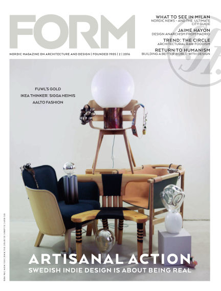 FORM Magazine April 11, 2016 00:00