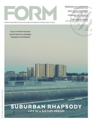 FORM Magazine 2016-06-07