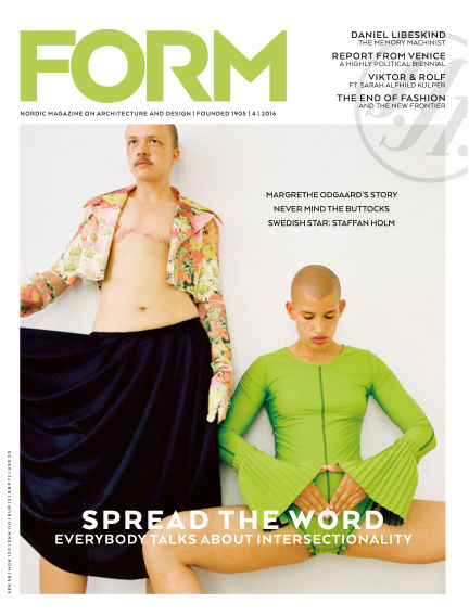 FORM Magazine August 16, 2016 00:00