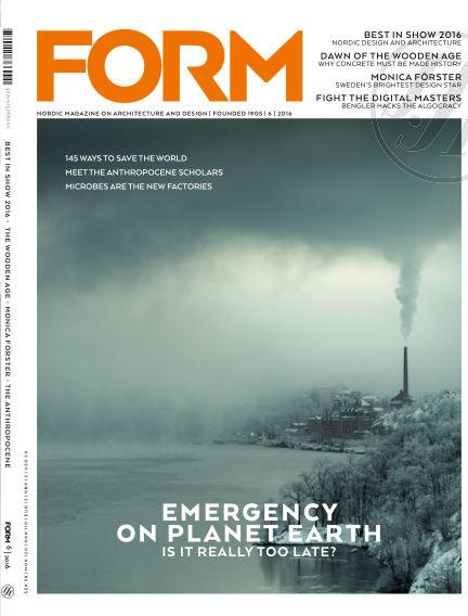 FORM Magazine December 13, 2016 00:00