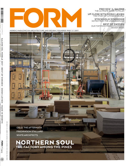 FORM Magazine April 03, 2017 00:00