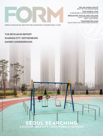 FORM Magazine June 07, 2017 00:00