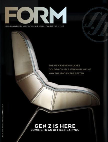 FORM Magazine August 15, 2017 00:00