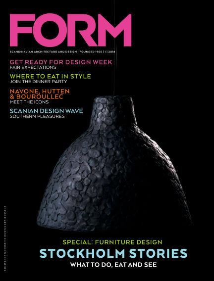 FORM Magazine February 06, 2018 00:00