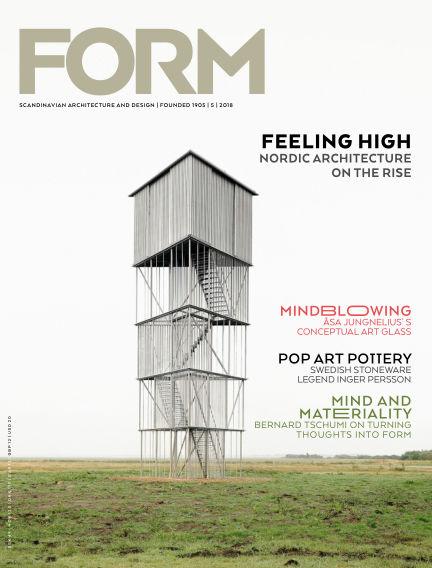 FORM Magazine October 16, 2018 00:00