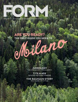 FORM Magazine 2019-04-09
