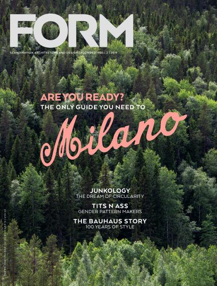 FORM Magazine April 09, 2019 00:00
