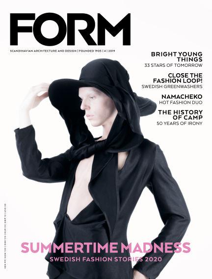FORM Magazine August 20, 2019 00:00