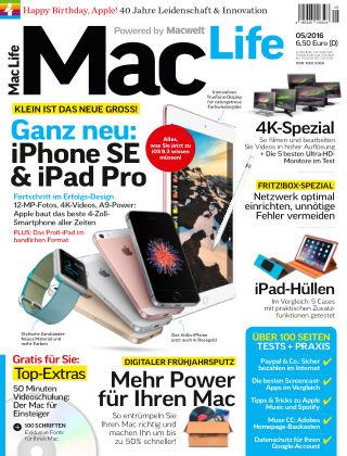 Mac Life - DE 05.2016