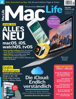 Mac Life - DE 08.2016