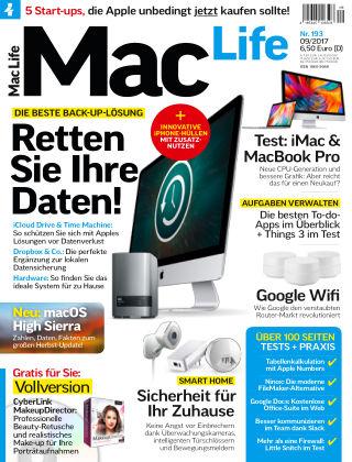 Mac Life - DE 09.2017