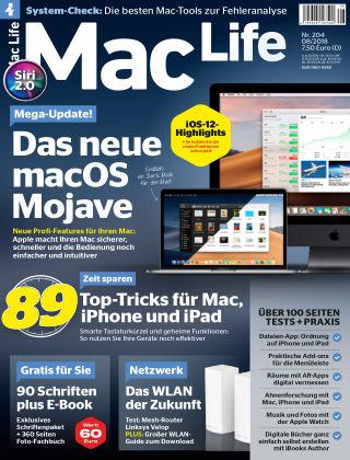 Mac Life - DE 08.2018