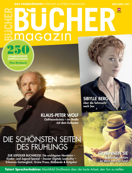 BÜCHER March 11, 2015 00:00