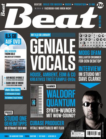 Beat May 02, 2018 00:00