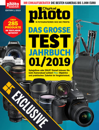 DigitalPHOTO Readly Exclusive Test-Jahrbuch 1/19
