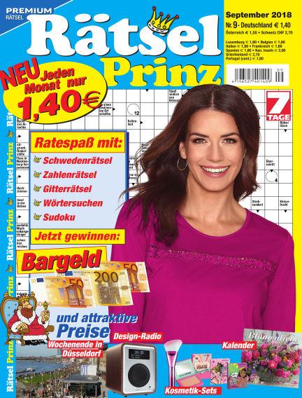Rätsel-Prinz August 01, 2018 00:00