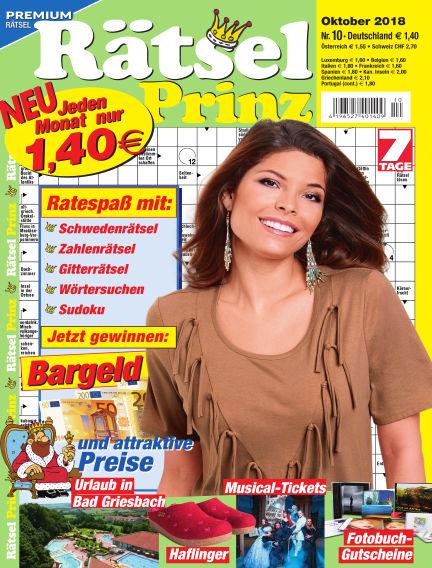 Rätsel-Prinz September 05, 2018 00:00