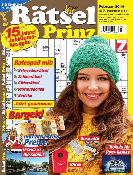 Rätsel-Prinz January 02, 2019 00:00