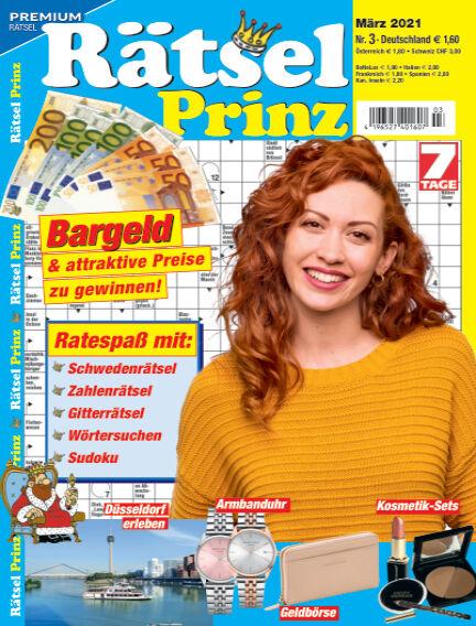 Rätsel-Prinz February 03, 2021 00:00