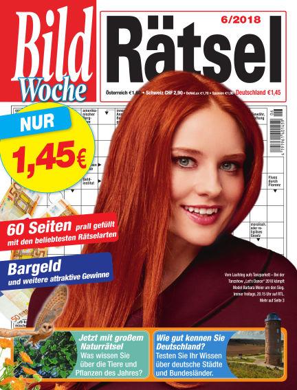 Bild Woche Rätsel May 11, 2018 00:00