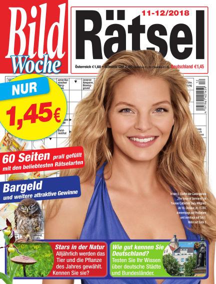Bild Woche Rätsel October 12, 2018 00:00
