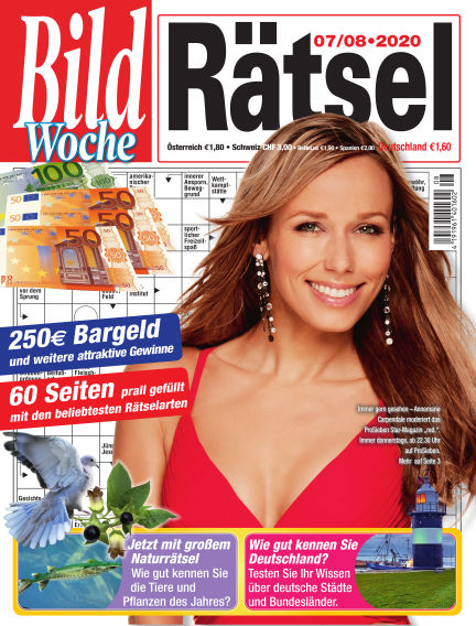 Bild Woche Rätsel July 03, 2020 00:00