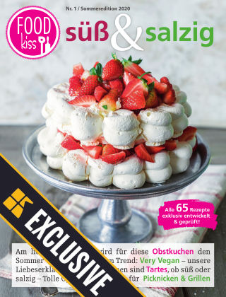 FOODkiss Liebes Land Readly Exclusive Süß & Salzig