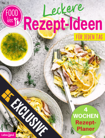 FOODkiss Liebes Land Readly Exclusive August 01, 2020 00:00