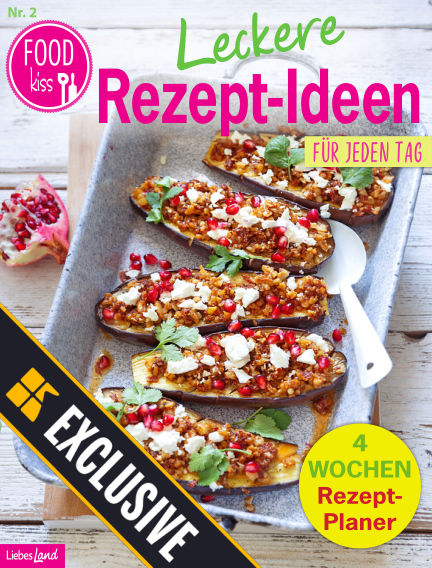 FOODkiss Liebes Land Readly Exclusive