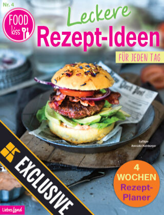 FOODkiss Liebes Land Readly Exclusive Nr. 4