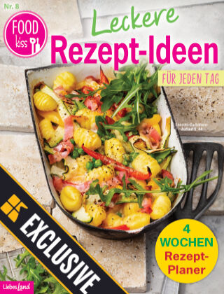 FOODkiss Liebes Land Readly Exclusive Nr. 8