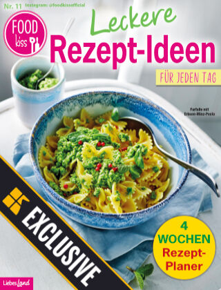 FOODkiss Liebes Land Readly Exclusive Nr. 11