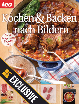 Lea Kochen & Backen nach Bildern Readly Exclusive 2021-03-20