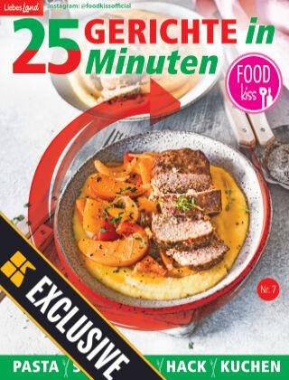 FOODkiss Liebes Land 25 Gerichte in 25 Minuten Readly Exclusive Nr. 7