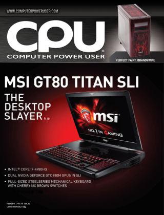 Computer Power User (CPU) Feb 2015