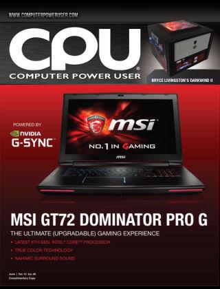 Computer Power User (CPU) June 2015