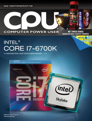 Computer Power User (CPU) September 2015